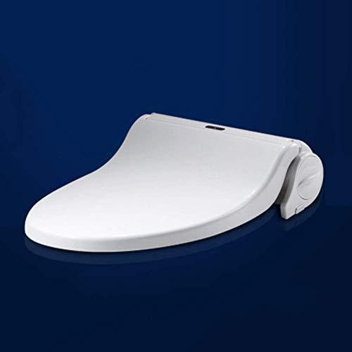 DJY-JY Smart Siège de Toilette, siège de Toilette Chauffage à Induction Tactile Tournez Pad, Smart Cover Toilettes Toilettes Conseil Clean Eco-Friendly Dry