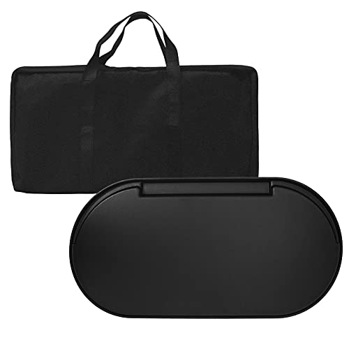 bbq777 Cast Iron Griddle and Carry Bag Replacement Kit for Coleman Roadtrip Swaptop Grill Griddle, Full Size, Outdoor BBQ Camping Grills Nonstick Cooking Griddle