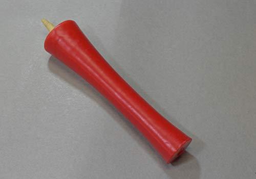 和ろうそく 型和蝋燭 ローソク【朱】 イカリ 20号 朱色 6本入り 約17センチ 約3時間30分燃焼