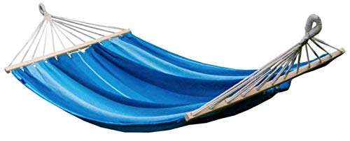 Potenza The Good Weather Co. Premium Double (XXL: 2 Person) Cocoon Style Hammock  Holds: 200kg  Size: 220cm x 160cm  Colour: Pacific Crossbar