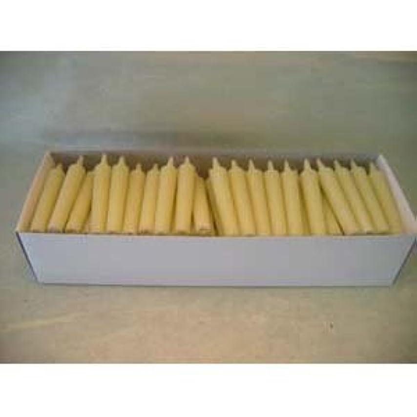 アカデミック入力前任者和ろうそく 型和蝋燭 ローソク 豆型 棒タイプ 白 100本入り