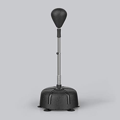 Staande boksbal Boksuitrusting Gratis Stand Agility Training Ponsen Reflex Ball Reflex Bokszak, in Hoogte Verstelbaar - Vrijstaande Boksbal Speed Bag