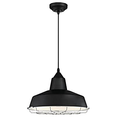Westinghouse Lighting 6104900 Academy One-Light Dimmable LED Indoor Pendant