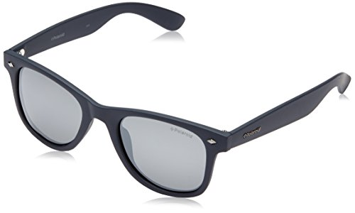 Polaroid PLD 1016/S JB MY7 Gafas de sol, Azul (Solid Blue/Grey Silmir Pz), 50 Unisex-Adulto
