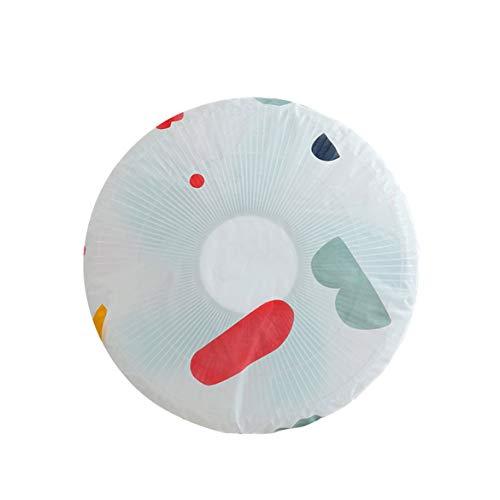 Banbie Blumenventilator Kleiner Ventilator Staubschutz Bodenventilator Abdeckung Bodenventilator Einfache Geometrie Waschbares rundes Design Schön