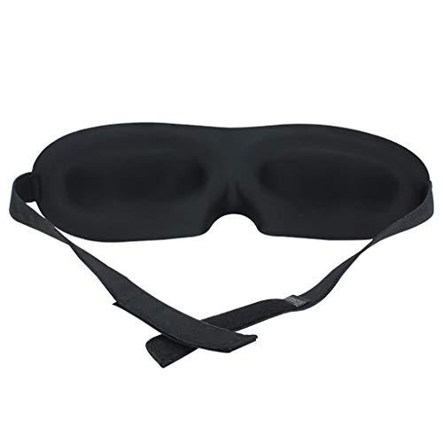XUQIANG Schlaf Augenpad Schlaf Augenmaske Schlaf Augenmaske Schattierung Männer und Frauen 3D Komfort Erfahrung schwarz Augenmaske