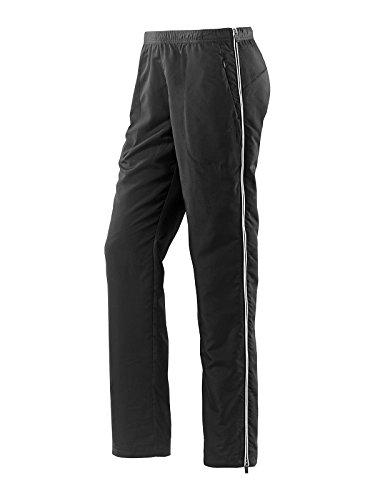 Joy Sportswear Damen Sporthose MERRIT ideal für Fitness und Outdoor-Aktivitäten | atmungsaktiv | Bewegungsfreiheit W23, Länge Kurzgröße, Black/White