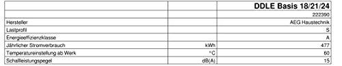AEG  DDLE Basis   Umschaltbar 18/21/24 kW - 9
