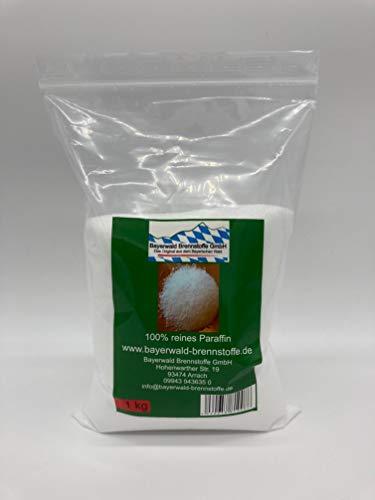 Bayerwald 1kg Kerzenwachs, Granulat, Paraffin