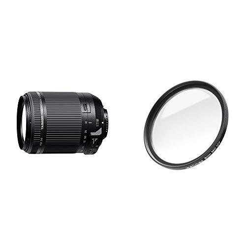 Tamron B018N 18-200mm F3.5-6.3 Di II VC Nikon & Walimex Pro UV-Filter Slim MC 62 mm (inkl. Schutzhülle)