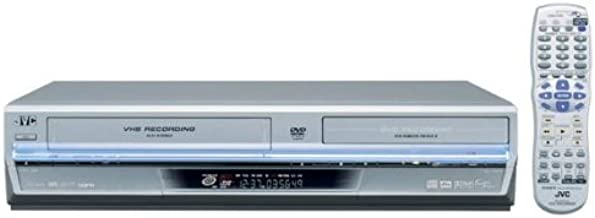 JVC DRMV1S Progressive-Scan DVD Player/Recorder and VCR Combo , Silver