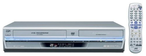 Review Of JVC DRMV1S Progressive-Scan DVD Player/Recorder and VCR Combo , Silver