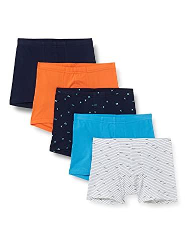 Schiesser Jungen Unterhosen 5 Pack Unterwäsche, Sortiert 2, 116