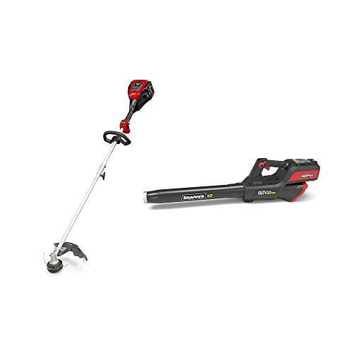 Find Bargain Snapper XD 82 Volt Max Lithium Ion Battery Cordless String Trimmer & Leaf Blower