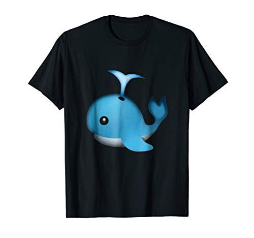 Whale Emoji T Shirt