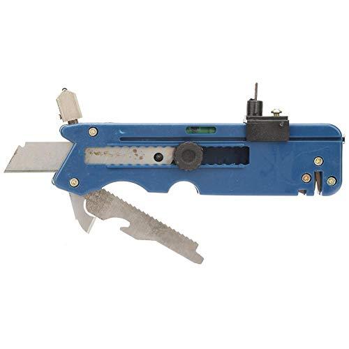 Herramienta de cuchilla de corte de cortador de azulejos de vidrio plegable de mano multifunción para baldosas y vidrio