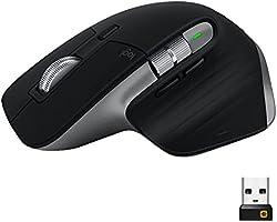 Logitech Mx Master 3 For Mac Advanced Wireless Mouse, Seria Master Firmy Logitech, Mac/Ipad - Gwiezdna Szarość,910-005696