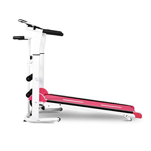 RFGHATG New Treadmill, Folding Mechanical Treadmill, Fitness Treadmill, Multifunctional Mute Fitness Equipment with Treadmill