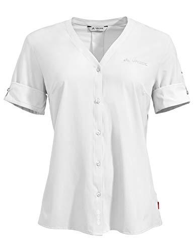 Vaude Damen Bluse Women's Skomer Shirt III, White, 38, 41817