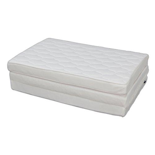 アイリスオーヤマハイグレードエアリーマットレス厚さ9cmシングル通気性洗える体圧分散ホワイトHG90-S