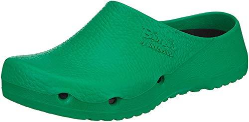 BIRKIS Birki Air Clogs Antistatik Alpro-Schaum, Green, Größe 43 mit normalem Fußbett