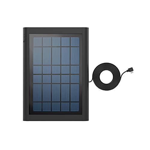 Wir stellen vor: Ring Solarpanel für Ring Video Doorbell (2. Generation) von Amazon | Schwarz