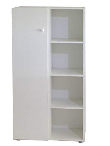 Libreria Billy colore bianco Contemporaneo White