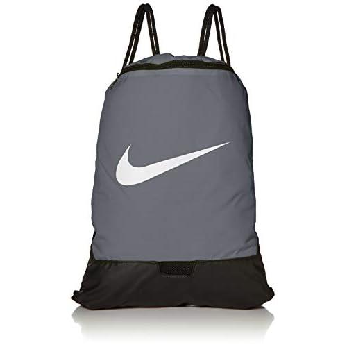 Nike NK BRSLA GMSK - 9.0 (23L), Sacca Sportiva Unisex – Adulto, flint grey/flint grey/(white), MISC