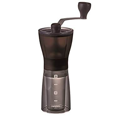 Hario Ceramic Coffee Mill Mini-Slim Plus