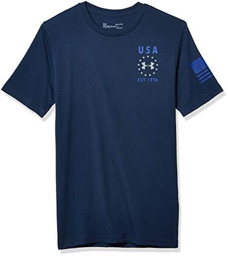 Under Armour Herren Freedom Usa T-Shirt Kurz/ärmelig
