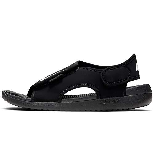 Nike Sunray Adjust 5 V2 (GS/PS), Sandal Boys, Black/White, 28 EU