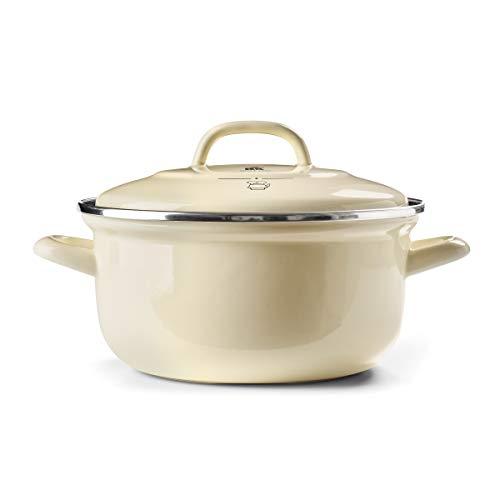 BK Cookware Dutch Oven Cream 55QT