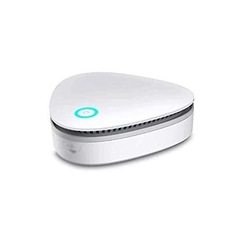 Bdesign Purificador de Aire del hogar portátil Purificador de ozono Desodorador de Aire purificador de Aire USB Recargable Nevera purificador Aire pequeño Espacio Claro Olor