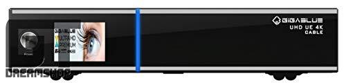 GigaBlue UHD UE 4K Cable 1x DVB-C/C2 FBC Tuner Receiver inkl. 1000GB HDD