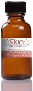 Skin Obsession 30% Glycolic Acid Peel ~ Treats Acne Scars, Acne, Dark Circles, Fine Lines