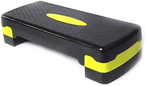 RUN Inizio Esercizio Stepper, Stovepipe Fitness/Coperta Fitness Tapis roulant, Adatto per i Principianti, Giallo