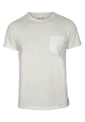 Blend Tobi 20701255ME T-Shirt, Größe:XL, Farbe:Offwhite (70005)