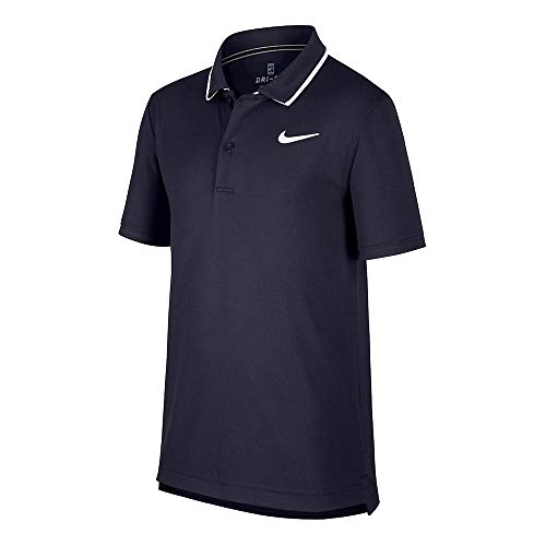 Nike Herren Nkct Dry Poloshirt Team Blazer, Blau (Obsidian/White), X-Small