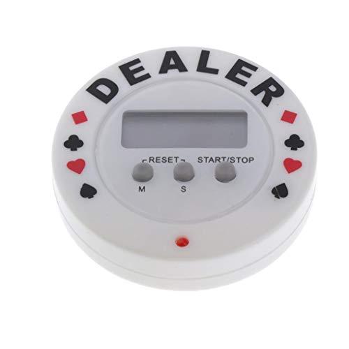 Amuzocity Temporizador Electrónico/Cuadrado Reloj Despertador Digital Temporizador de Cocina - como se describe, Forma redonda