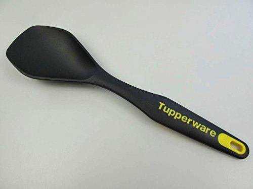 TUPPERWARE Griffbereit Servierlöffel schwarz-gelb D166 Servier TOP-Servierlöffel 8760