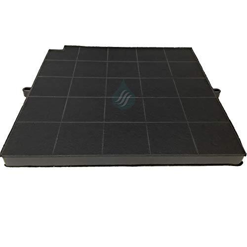 Solution Ahead - 1 Filtre Anti-Odeur au Charbon Actif pour hotte - Type 16 - AFFCAF16CS - FC120-480122100934 - AMC981