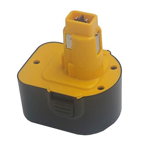 FSXMPL Taladro inalámbrico de batería de Repuesto para Herramientas eléctricas de 12V 1500mAh para Dewalt DE9071 2802K DE9074 DE9075 DC740K