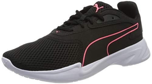 PUMA JARO WN'S, Zapatillas de Running para Mujer, Blanco Black/Ignite Pink, 37 EU