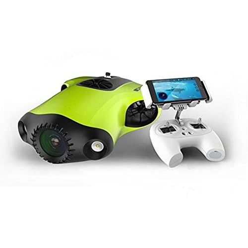 Drone Subacuático, 4K, Lente Ultra Gran Angular de 162 °, LED de 4000 lúmenes, CMOS de 1 Pulgada, RC Mini UAV Underone, HD de Imagen cámara submarina Drone Fotografía y vídeo subacuático