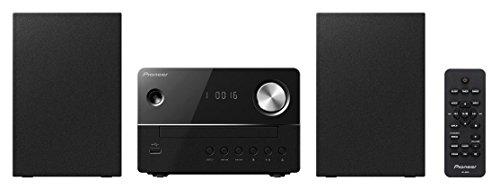 Pioneer X-EM16(B) Fernbedienbares Microsystem (CD, FM-Radio, MP3-USB und Weckfunktion) Schwarz