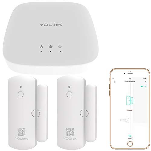 Smart Door Sensors, Wireless Window Door Sensor Smart Home Security Kit