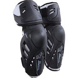 Fox Racing Titan Pro Adult Elbow Guard MotoX Motorcycle Body Armor - Black / Small/Medium