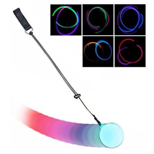 YSSClOTH Bolas de luz LED multicolor con pulsera elástica para principiantes y profesionales