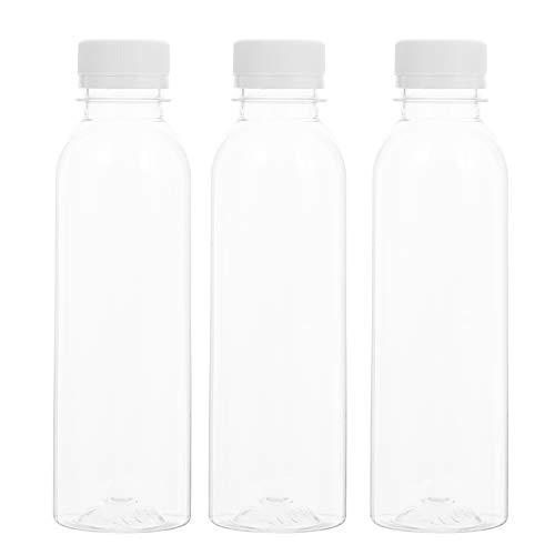 Cabilock 20 Botellas de Bebidas de 250ML Botellas de Plástico Vacías (Transparentes)