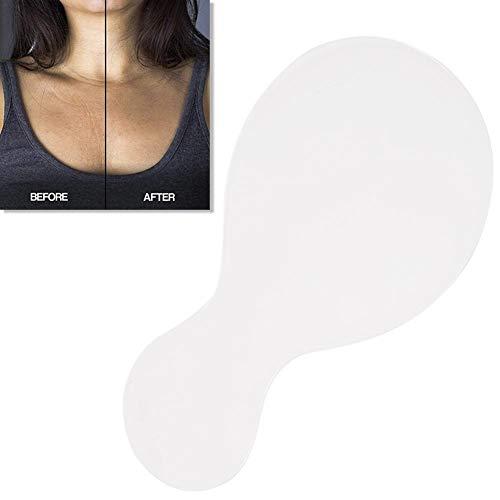 Eillybird Silikon Pad für Chest Falten Wiederverwendbar für die Nacht - Silikonpad Falten Prävention Anti-Aging Brustaufkleber für die Hautpflege